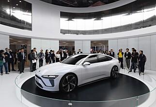 Lanserer elbil med superbatteri