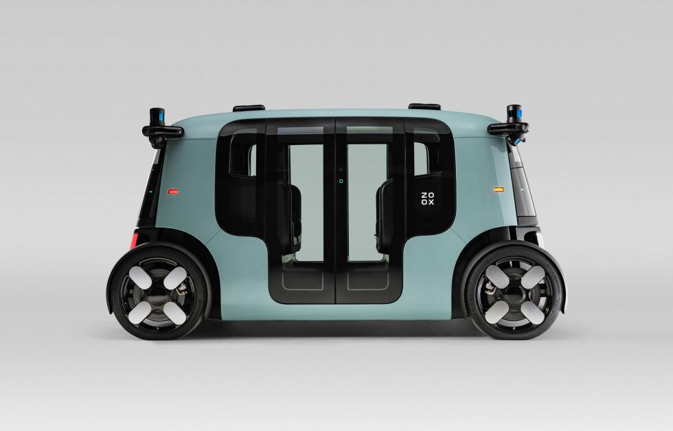 Zoox L5 Fully Autonomous, All-electric Robotaxi