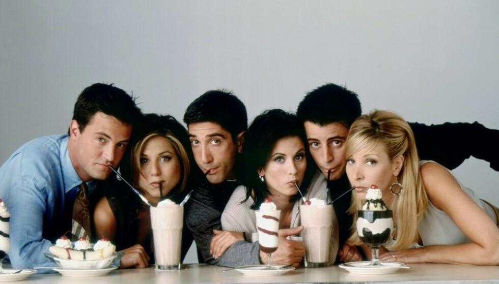 FORLATER NETFLIX: 31. desember får du ikke lenger se «Friends» på Netflix. I stedet tar en annen strømmetjeneste over stafettpinnen. Foto: Foto: Warner Bros