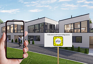 Snapchat og Norgeshus viser deg boligen «live»