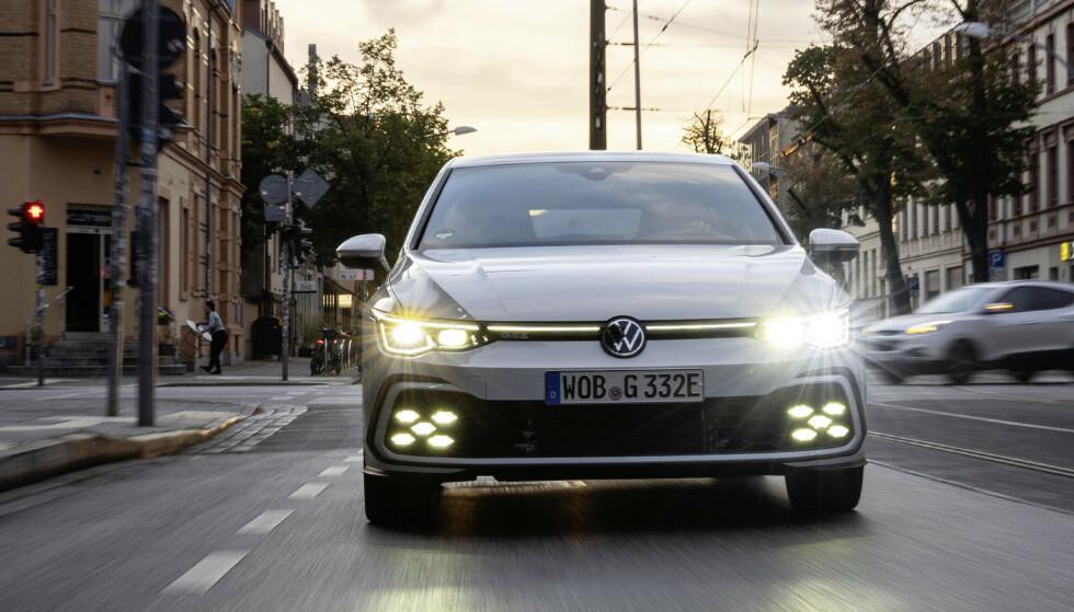 IKKE MANGE: I Norge er det solgt bare 219 VW Golf med bensinmotor så langt i år. Foto: VW