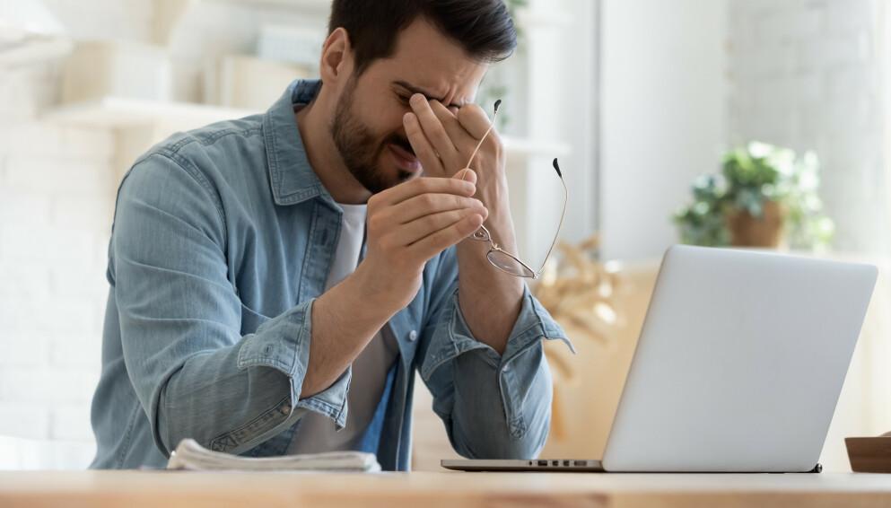 MISTER FRADRAG: De som vanligvis fører fradrag på skattemeldingen for lang vei til jobb, kan få en smell neste år dersom store deler av 2020 ble tilbragt på hjemmekontoret. Foto: Shutterstock / NTB Scanpix