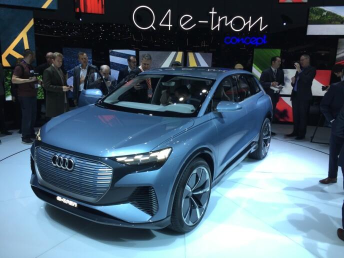 Audi Q4 e-Tron. Foto: Rune Korsvoll