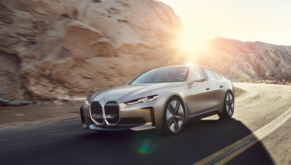 BMW i4. Foto: BMW