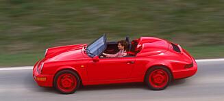 Seks brukte Porsche-kupp