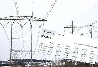 Plutselig mye dyrere strøm