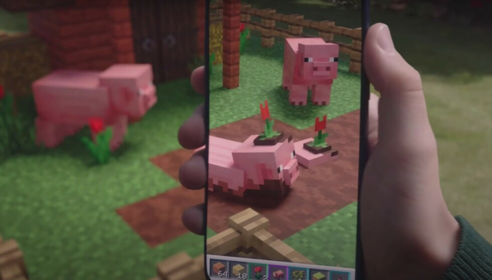 SLUTT: 30. juni stenges Minecraft Earth. Foto: Mojang/YouTube