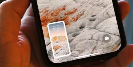 Tar iPhone skjermbilder av seg selv?