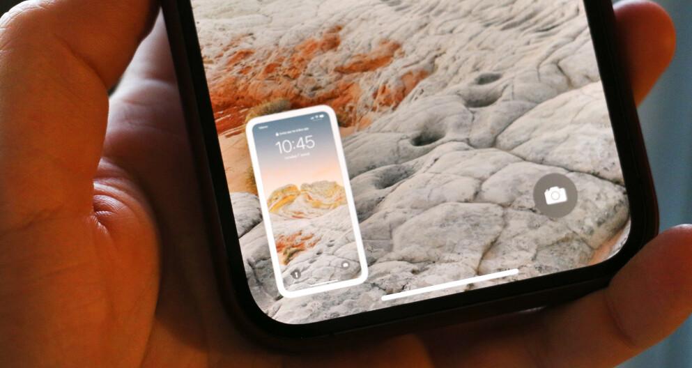 OOPS: Irriterer du deg over at din iPhone tar skjermbilder i hytt og gevær? Foto: Kirsti Østvang
