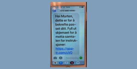 Politiet advarer mot SMS-svindel