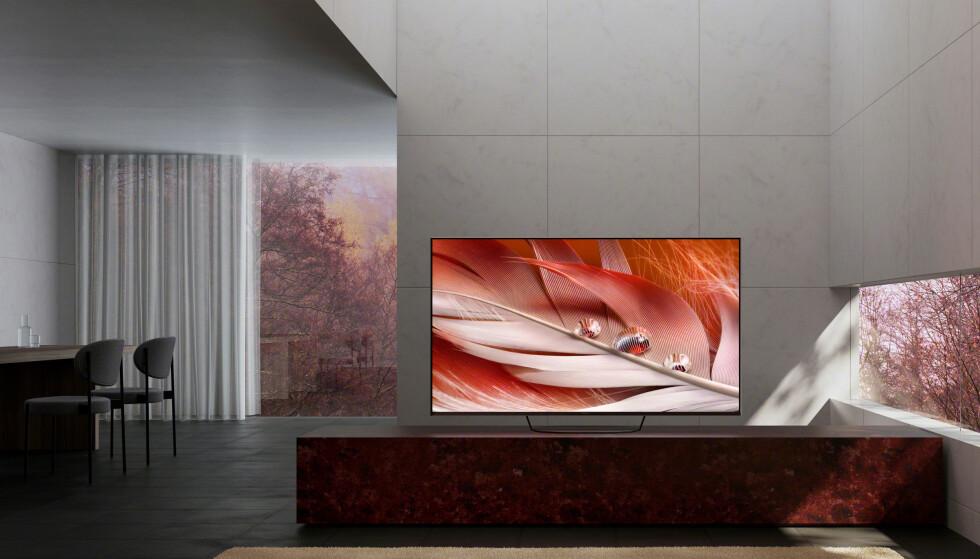 SMARTE: Sony har lagt mye jobb i bildeprosesseringen på sine nye XR-TV-er og hevder at de er først ute med kognitivt intelligente TV-er. Foto: Sony