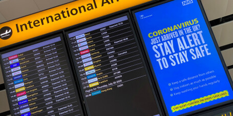 England krever negativ test ved innreise