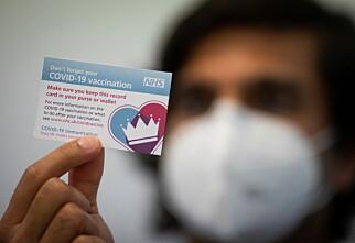 Jobber med felles vaksinesertifikat