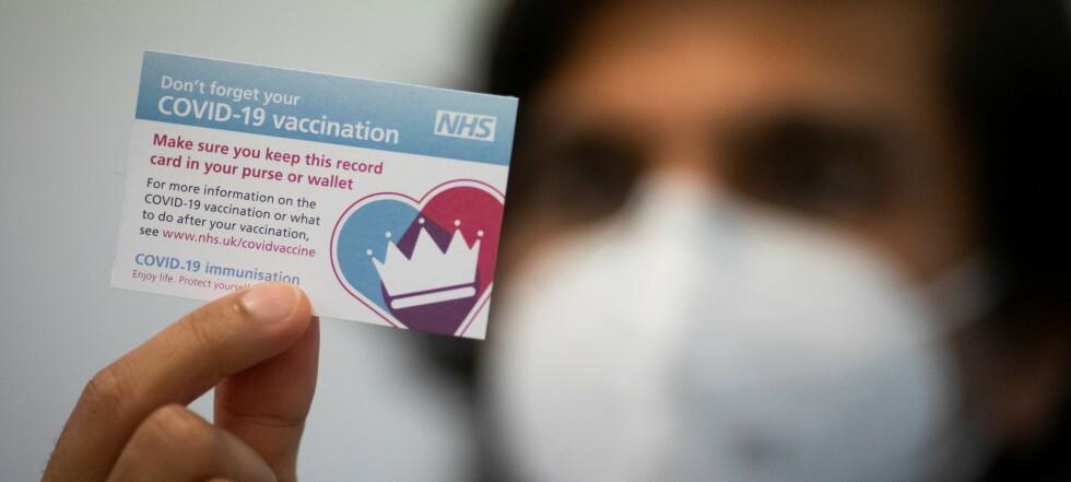 «Vaksinepass» kan åpne for reiser