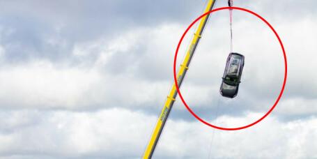 Her knuses Volvoen fra 30 meter