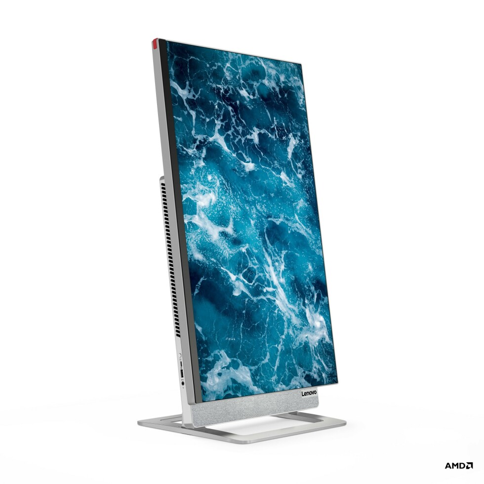 Horisontal eller vertikal skjerm. Du velger selv. Foto: Lenovo