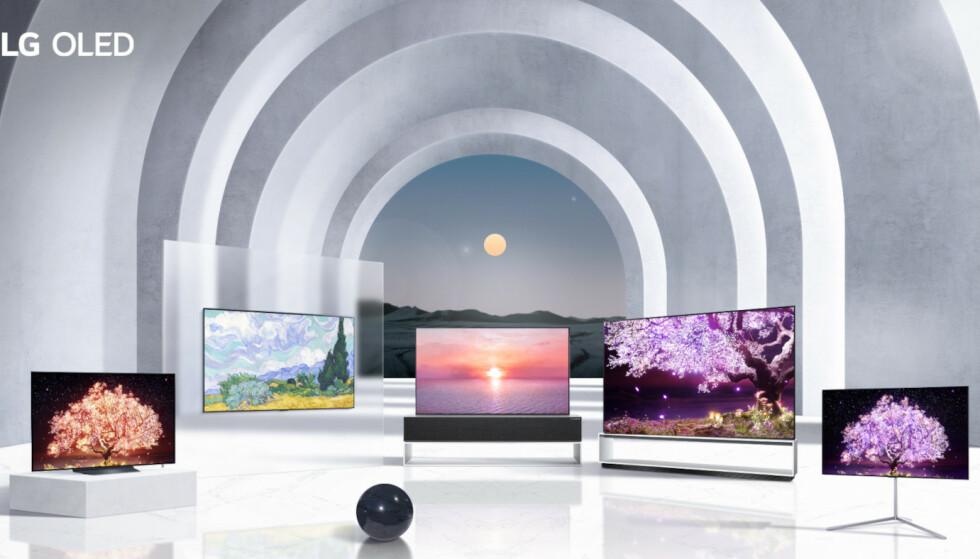 OLED: Dette er årets OLED-nyheter fra LG. Foto: LG