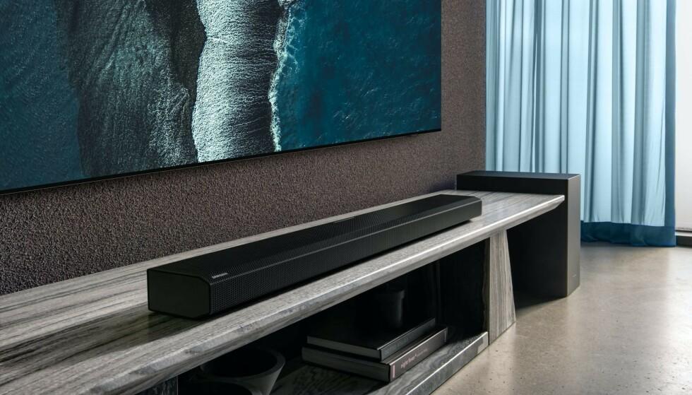 Q800A: Samsung lanserer to nye lydplanker under årets CES-messe. Foto: Samsung