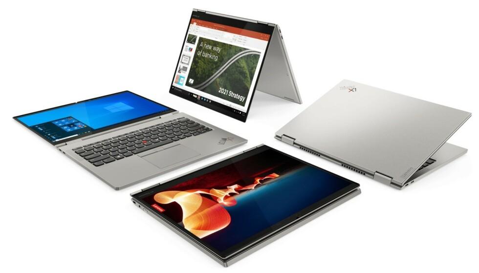 X1 YOGA TITANIUM: Dette er det tynneste ThinkPaden noensinne. Foto: Lenovo