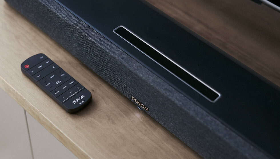 DENON HOME SOUND BAR 550: Denon lanserer sin første lydplanke med Dolby Atmos og DTS:X. Foto: Denon
