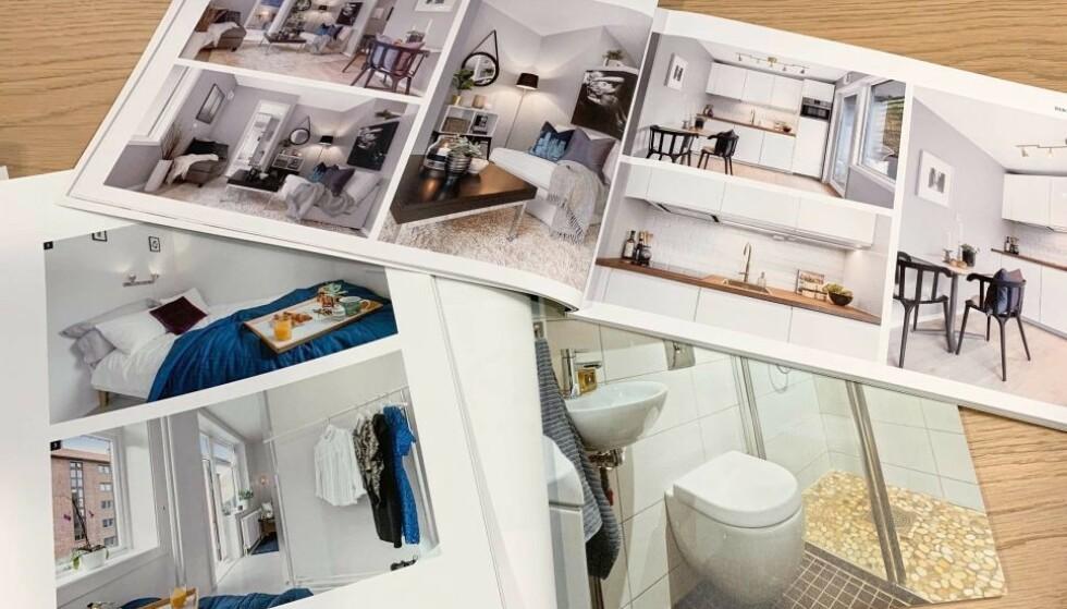 PLASS OG PENGER: Boligtype - altså om det er enebolig, tomannsbolig eller leilighet - har stor betydning for hvor mye plass du får for pengene, viser en fersk analyse fra Prognosesenteret. Foto: Eilin Lindvoll