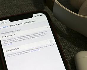 Ny iPhone-funksjon demper volumet