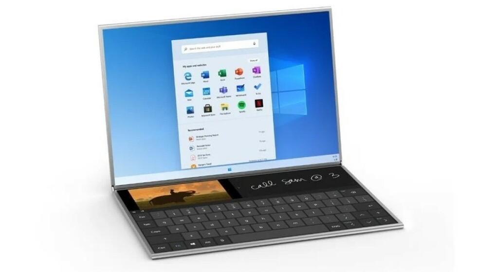 WINDOWS 10X: En helt ny versjon av Windows kommer i år. Foto: Microsoft