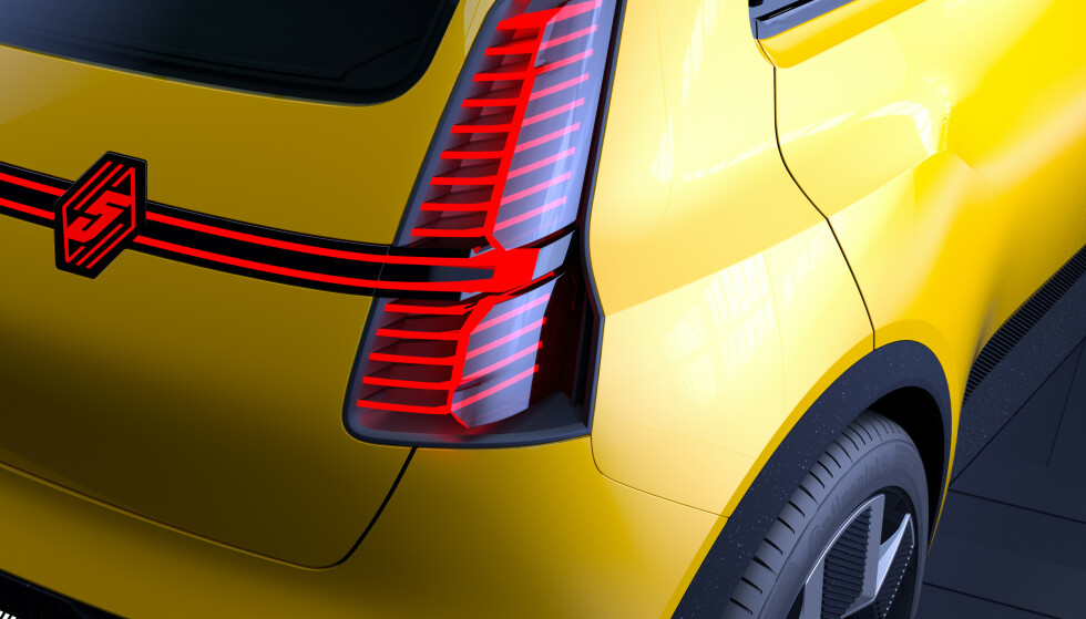 SPORTY: Renault er en av flere produsenter som ser tilbake i tid når de skal lage biler med fremtidens drivlinjer. Foto: Renault