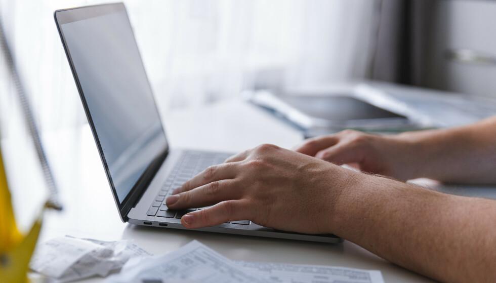 OOPS: Glemmer du å dempe mikrofonen før du trykker på tastaturet? Ikke med Unclack. Foto: Shutterstock / NTB Scanpix