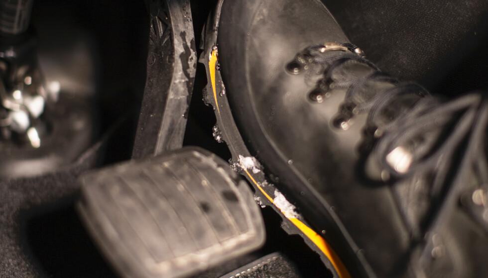 DU MÅ SJEKKE: I Norge er det brukt-importert og solgt rundt 550 Hyundai Kona Electric utenfor de offisielle Hyundai-forhandlerne. Her må eierne selv sjekke med selgeren om bilen kan ha feil på bremsene. Foto: Markus Pentikainen