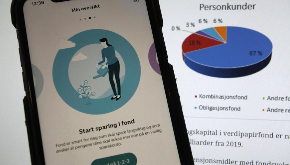 NY REKORD: Aldri har nordmenn tegnet fondsandeler mer enn i 2020, viser statistikk fra VFF. Foto: Øystein B. Fossum