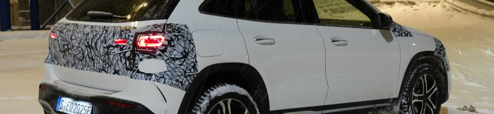Mercedes nye elbil