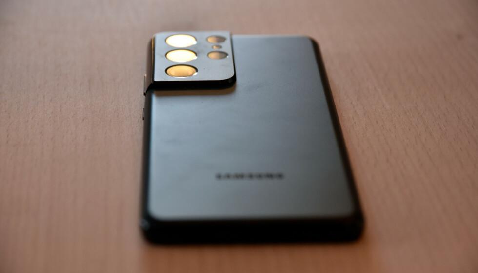 GLIMRENDE: Det er ikke mye å trekke for på Samsungs toppmodell. Foto: Pål Joakim Pollen