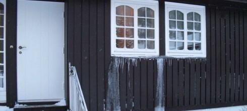 Forbered hytta på frost og kulde