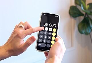 Fjerner tall på et sveip