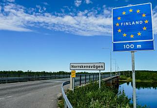 Finland stenger grensa mot Norge