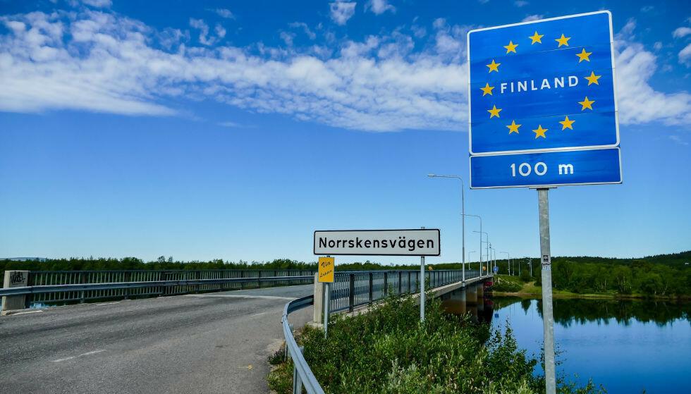 STENGER FOR MUTERTE VIRUS: Finland ønsker ikke nye varianter av coronaviruset velkommen, og stenger derfor grensene fra i dag. Foto: Shutterstock