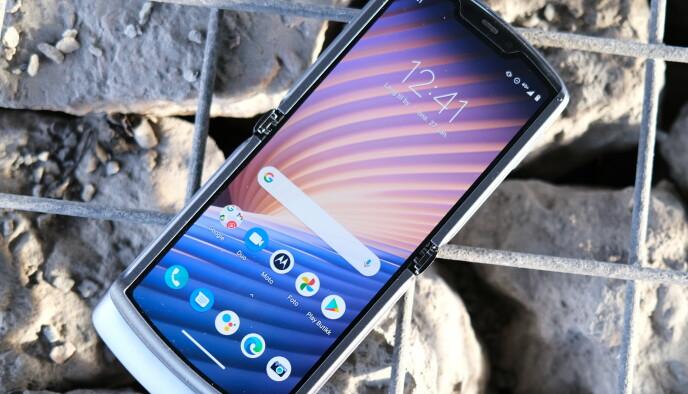 De brettbare mobilene inntar markedet. Foreløpig er vi litt avventende til nytteverdien. Foto: Martin Kynningsrud Størbu