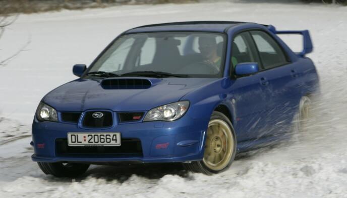 Subaru WRX STI. Foto: Knut Arne Marcussen