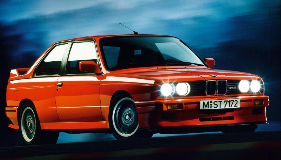 BMW M3 E30. Foto: BMW