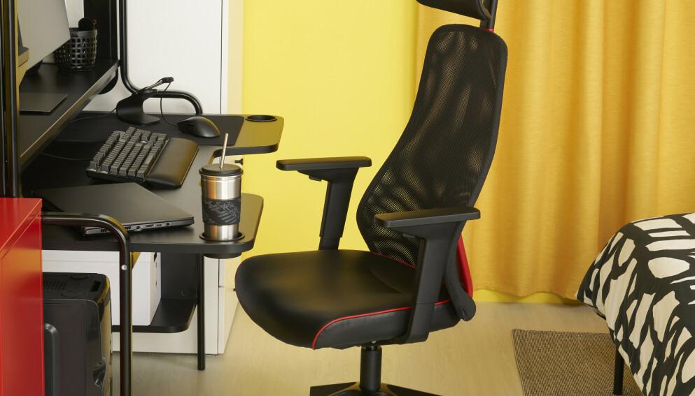 SPILLSATSING: Snart kan du kjøpe alle gamingmøblene dine på Ikea. Foto: Ikea