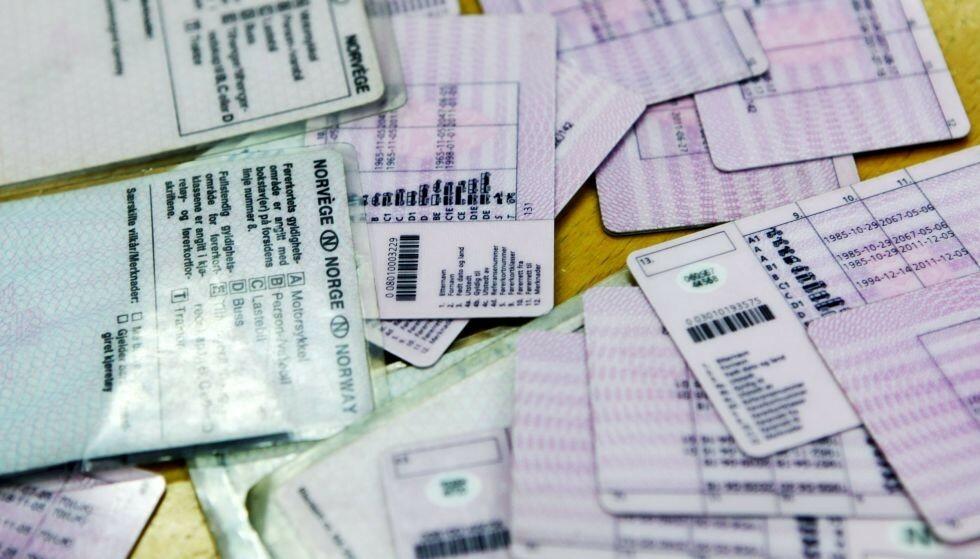 HELSEATTEST: Ap, SV og FrP ønsker å fjerne ordningen med helseattest for førerkort. Foto: NTB