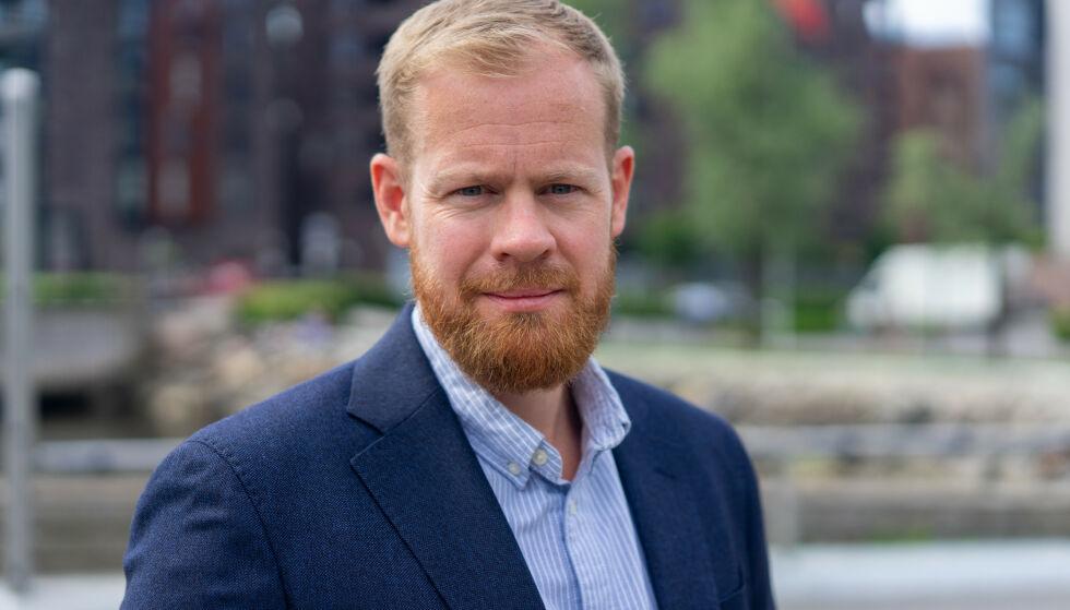 BEKYMRET: Kommunikasjonssjef Simen Berntsen Rudi i Fremtind.