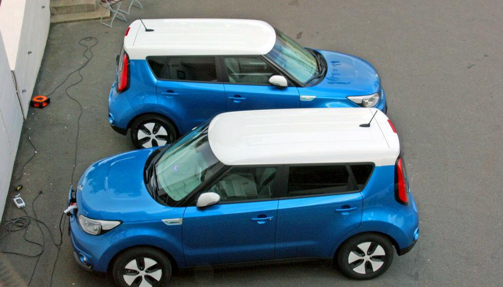 MÅ OPPDATERES: Kia tilbakekaller rundt 3500 biler i Norge for å oppdatere bilens IEB. Foto: Knut Moberg