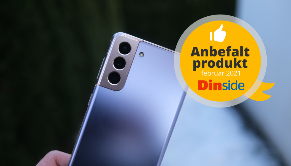 Galaxy S21+ er en mobil vi varmt kan anbefale.