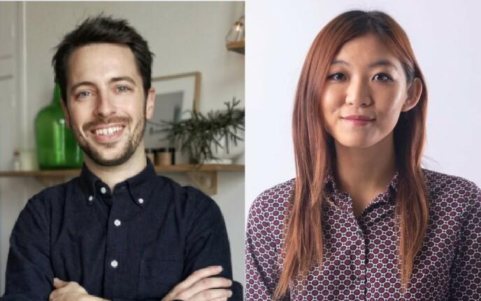 EKSPERTER: Anthony Asquin og Feon Chan jobber begge for Ambi Climate. Og har selvsagt den smarte dingsen i sine hjem.