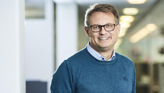 Sigmund Clementz er kommunikasjonssjef i If. Foto: If