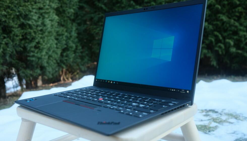 LENOVO THINKPAD X1 NANO: Lenovo utvider ThinkPad X1-serien med den tynneste og letteste modellen hittil. Foto: Martin Kynningsrud Størbu