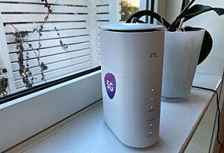 Telia med mobilt bredbånd over 5G