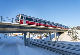 Jernbane rundt Oslo og i Trøndelag stenges i påsken